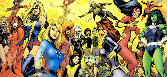 So many incredible female characters in the Marvel Universe. And then there's Sue Storm. My old nemesis. (You better believe we'll cover that eventually.)