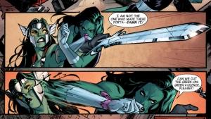It's not easy being green: She-Hulk vs GaThora